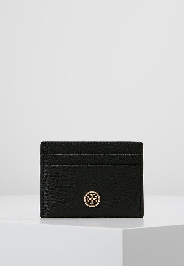 ROBINSON CARD CASE - Portemonnee - black