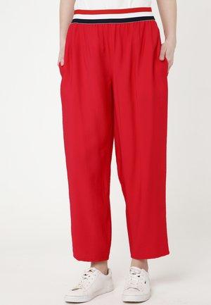 CRETA - Trousers - red