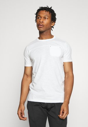 JORPIERCE CREW NECK - T-shirt basic - cloud dancer