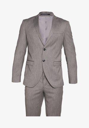 SLHSLIM MYLOBILL SUIT - Garnitur - light grey melange