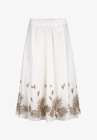 Alba Moda - A-line skirt - weiß haselnuss - 4