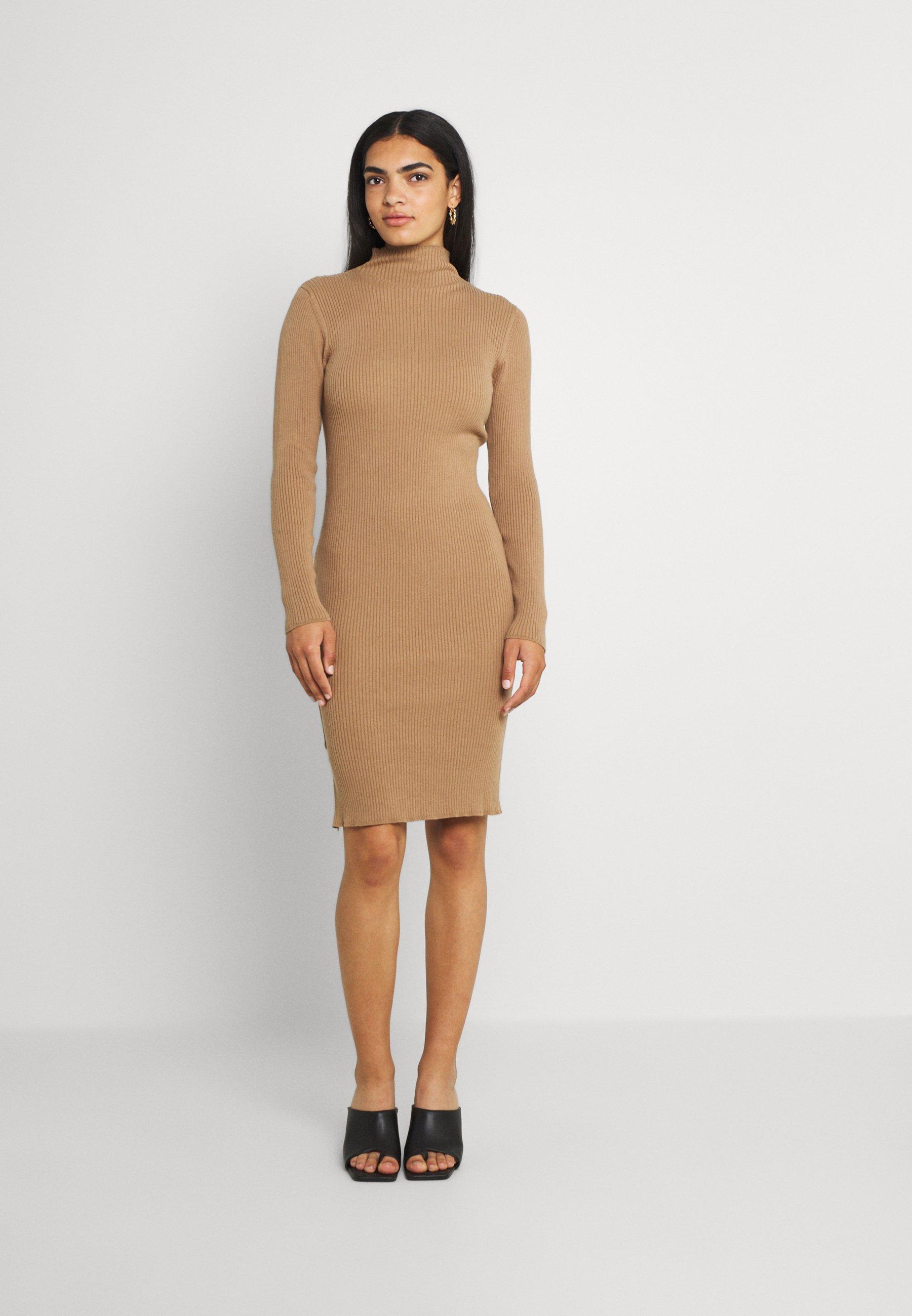 Mujer VISOLTO BUTTON DRESS - Vestido de tubo