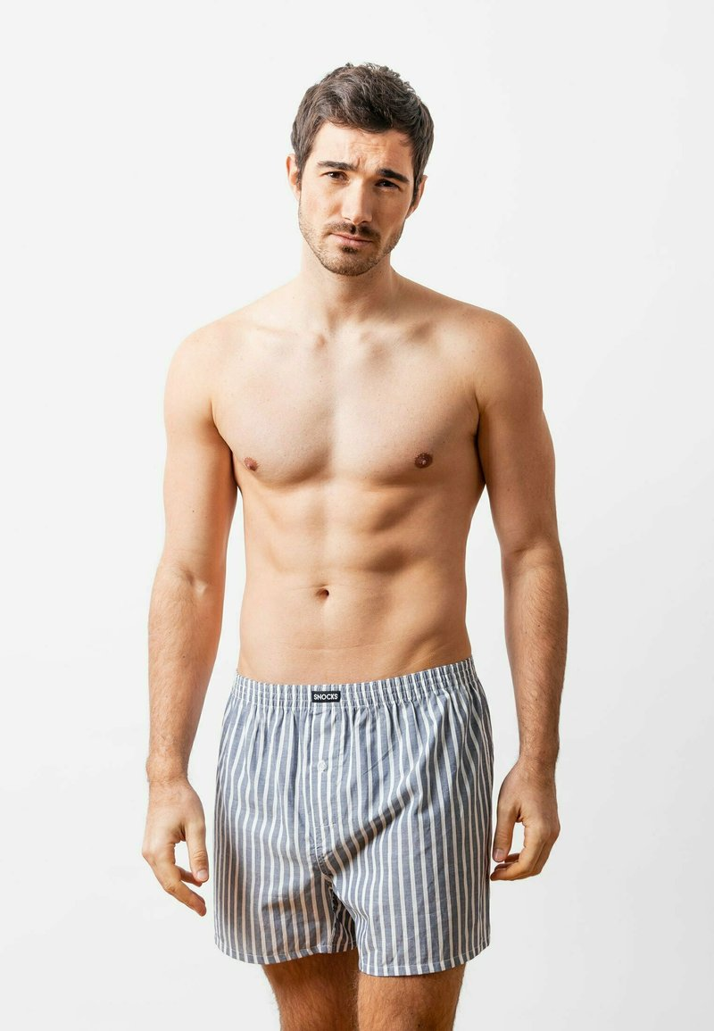 SNOCKS - WOVEN - 3 PACK - Boxer shorts - stripe