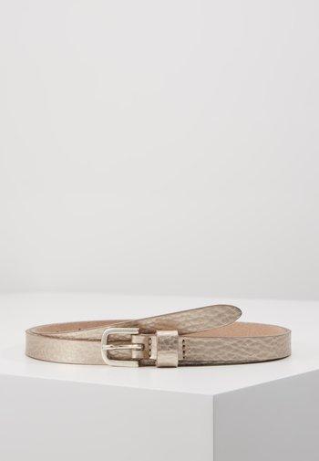 Belt - platingold-coloured/metallic