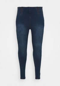 Simply Be - HIGH WAIST SHAPER - Jeggings - indigo - 3