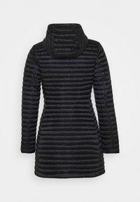 Save the duck - IRIS ALBERTA LONG HOODED COAT - Winter coat - black - 7