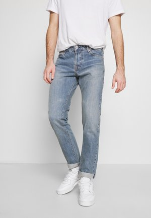JJIMIKE JJROYAL SELVEDGE - Džíny Slim Fit - blue denim