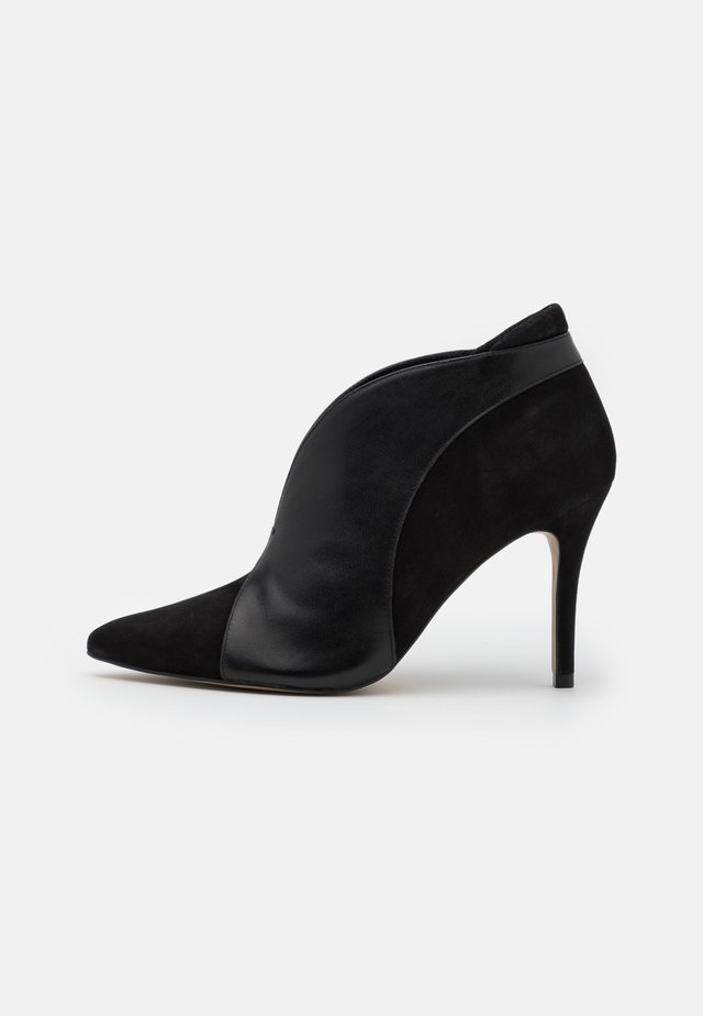 VALENTI - High heeled ankle boots - noir