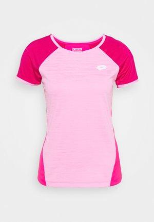 TEN TEE - Print T-shirt - pink/vivid fuchsia