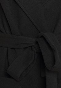 Dorothy Perkins Curve - CURVE SHORT WRAP BELTED THROW ONCOAT - Classic coat - black - 2