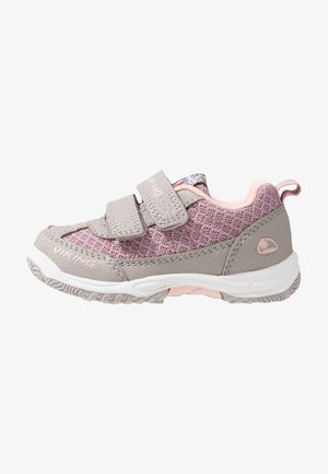 BRYNE - Hiking shoes - pearlgrey/violet