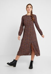 New Look - LILIAN DITSY MIDI DRESS - Maksimekko - black - 0