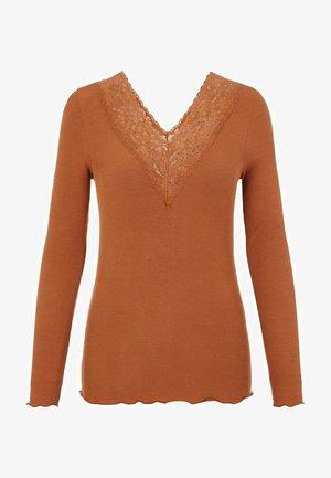 PCSIRI - Pitkähihainen paita - brown