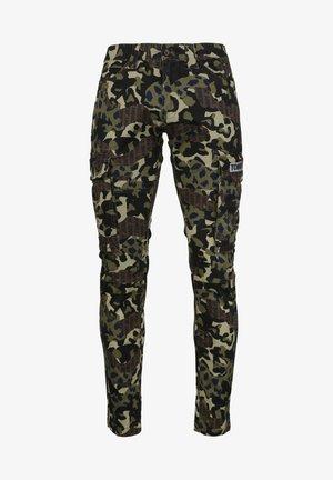 Pantalon cargo - green camo