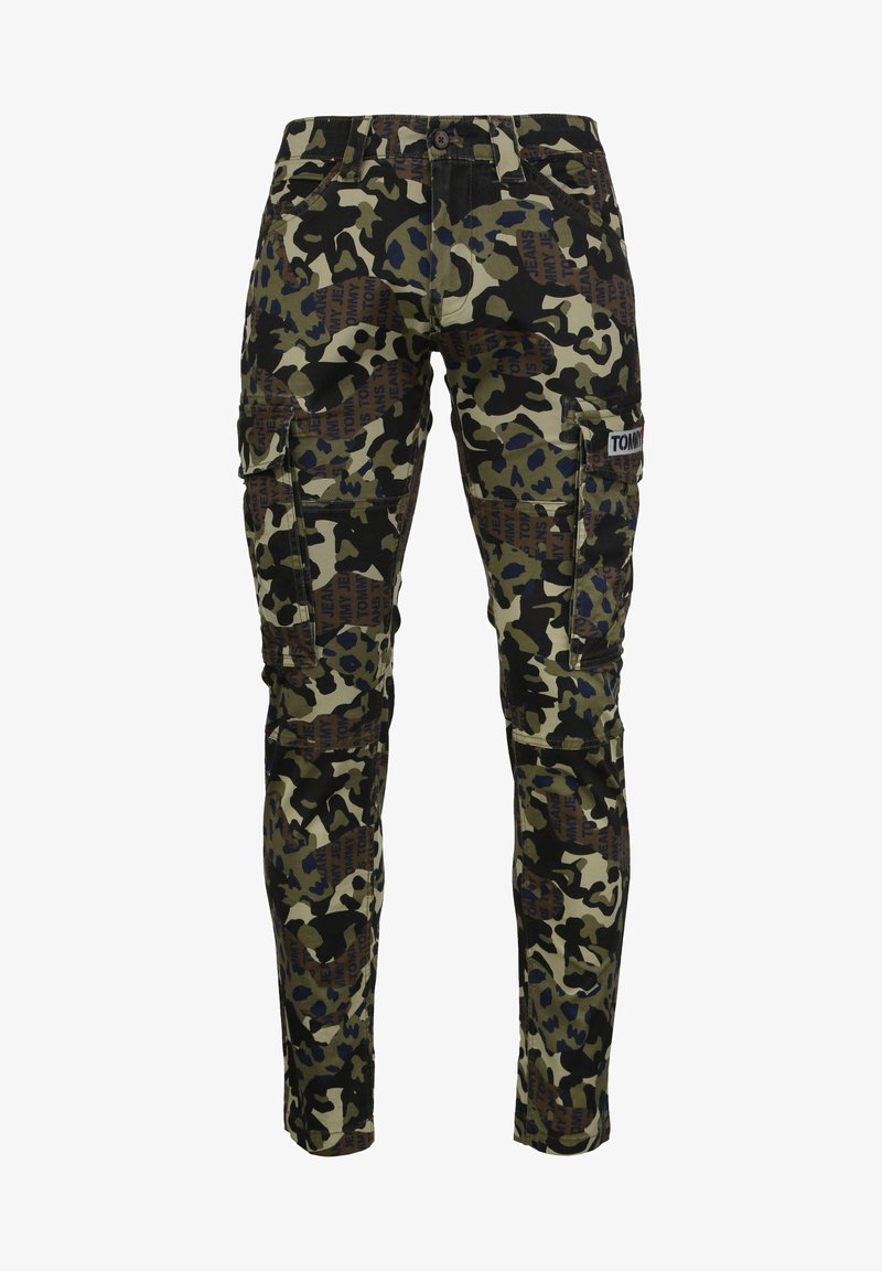 Tommy Jeans - Cargo trousers - green camo