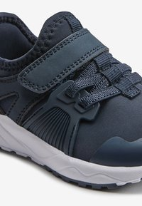 Next - NAVY ELASTIC LACE TRAINERS (OLDER) - Trainers - blue - 5