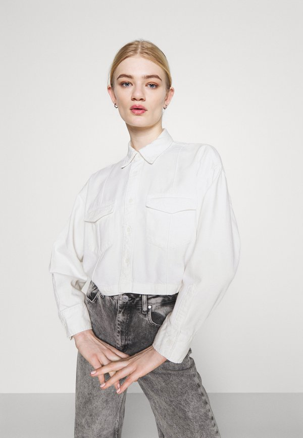 Levi's® Made & Crafted LMC RELAXED SHIRT - Koszula - lmc dew drop moj/biały QQQY