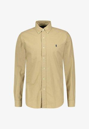 CUSTOM FIT OXFORD SHIRT - Shirt - beige
