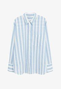 Violeta by Mango - PEDRO8 - Button-down blouse - light blue - 4