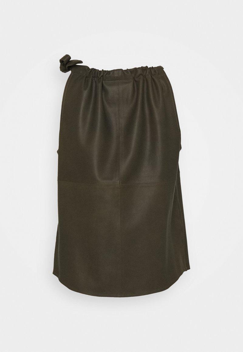 DEPECHE Bluse - leaf green/khaki 4dEEdx