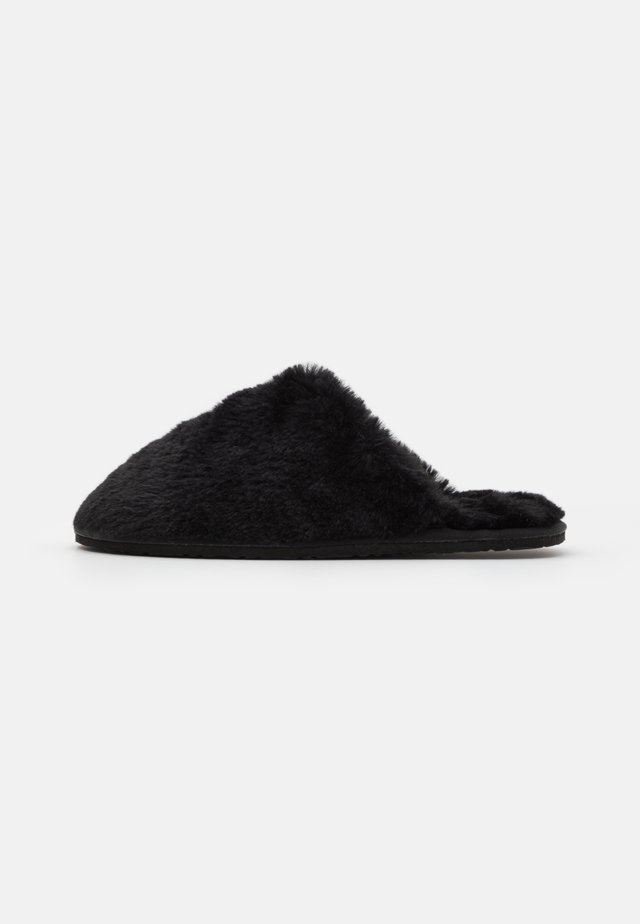 LITTLE FLUFFY CLOUDS - Pantofole - black