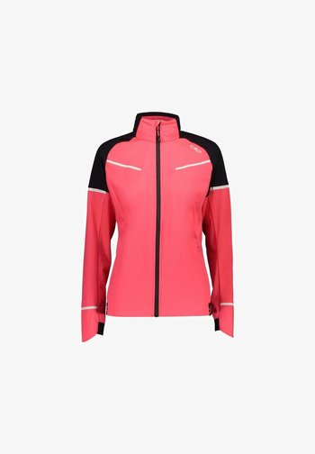 Soft shell jacket - gloss