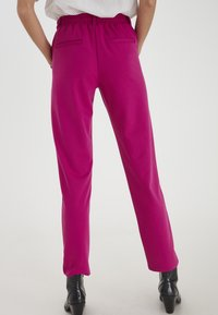 ICHI - IXKATE - Trousers - fuchsia red - 2