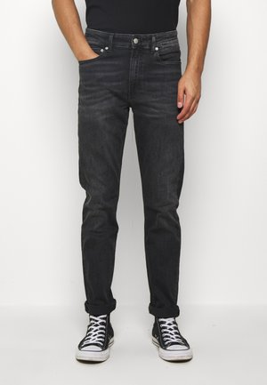 SLIM TAPER - Jeansy Slim Fit - washed black