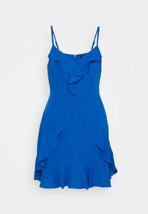 EVE SHORT DRESS - Koktejlové šaty/ šaty na párty - larkspur blue