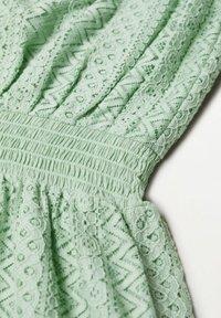 Mango - Day dress - pastelowa zieleń - 6