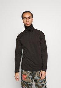 O'Neill - CLIME - Fleece jumper - black out - 0