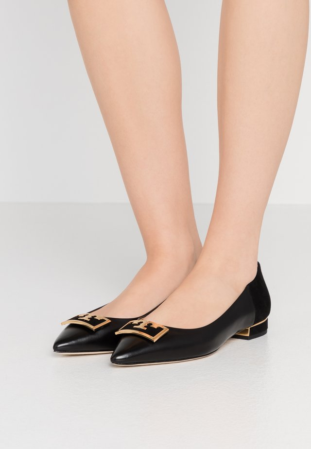 GIGI POINTY TOE FLAT - Ballerina's - perfect black