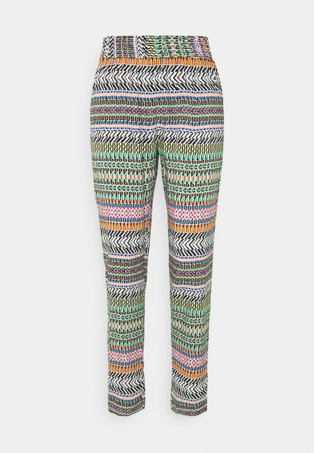 JDYSTAAR  - Pantalones - cloud dancer/multicolor