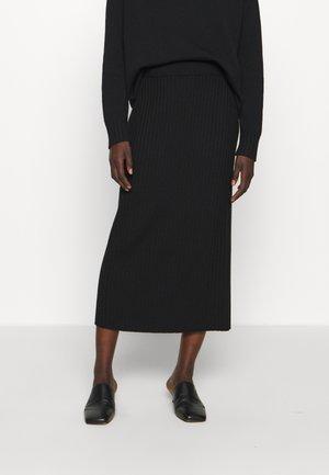 BOHEME - A-line skirt - nero