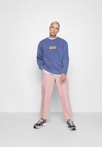 Topman - PRINT  - Sweatshirt - lilac - 1