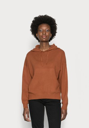 HOODIE - Pullover - amber brown