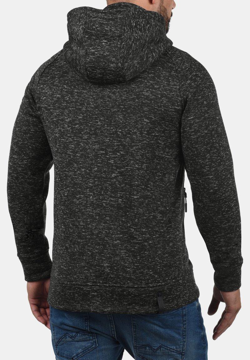 INDICODE JEANS - CHILLINGWORTH - Zip-up hoodie - dark grey