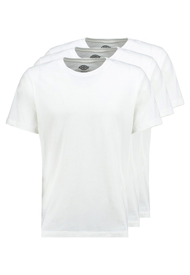 3PACK - T-shirt basique - white