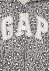 GAP - GIRL LOGO COZY - Mikina na zip - grey - 2