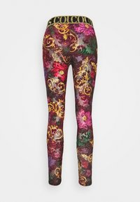 Versace Jeans Couture - Leggings - Trousers - rosso scuro - 1
