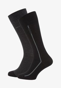 BOSS - 2P RS - Chaussettes - anthracite - 0