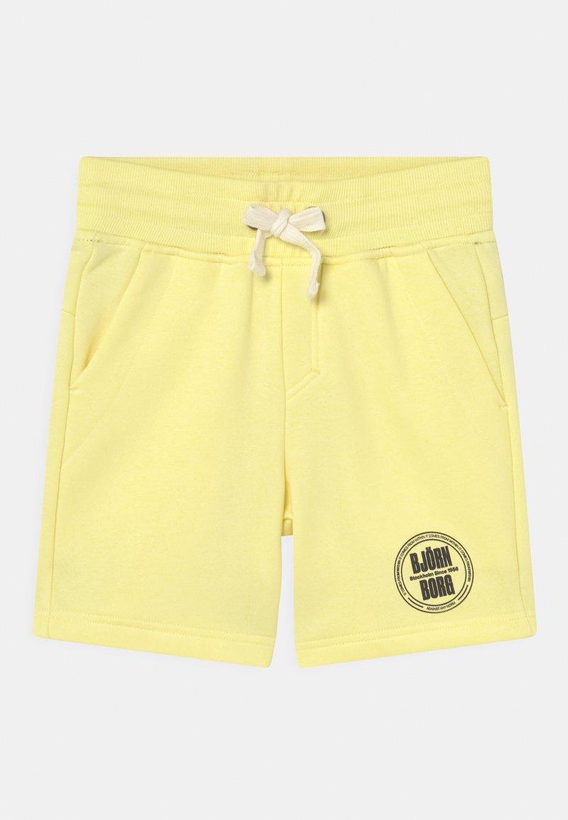 Björn Borg - SPORT UNISEX - Sports shorts - yellow pear