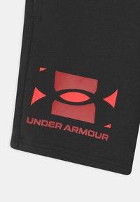 Under Armour - RIVAL UNISEX - Shorts - black - 2