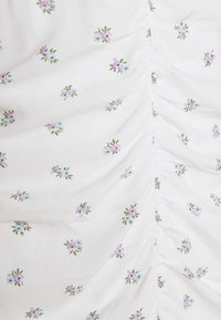 Hollister Co. - BARE RUCHED SHORT DRESS - Kjole - white - 6