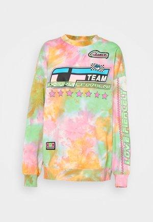 TIE DYE RACING  - Sweatshirt - multicolor