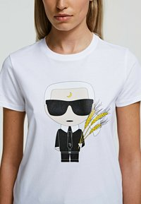 KARL LAGERFELD - K/ZODIAC - VIRGO - T-Shirt print - white - 3