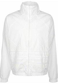 adidas Originals - TRAININGSJACKE BIG TREFOIL - Training jacket - white - 0