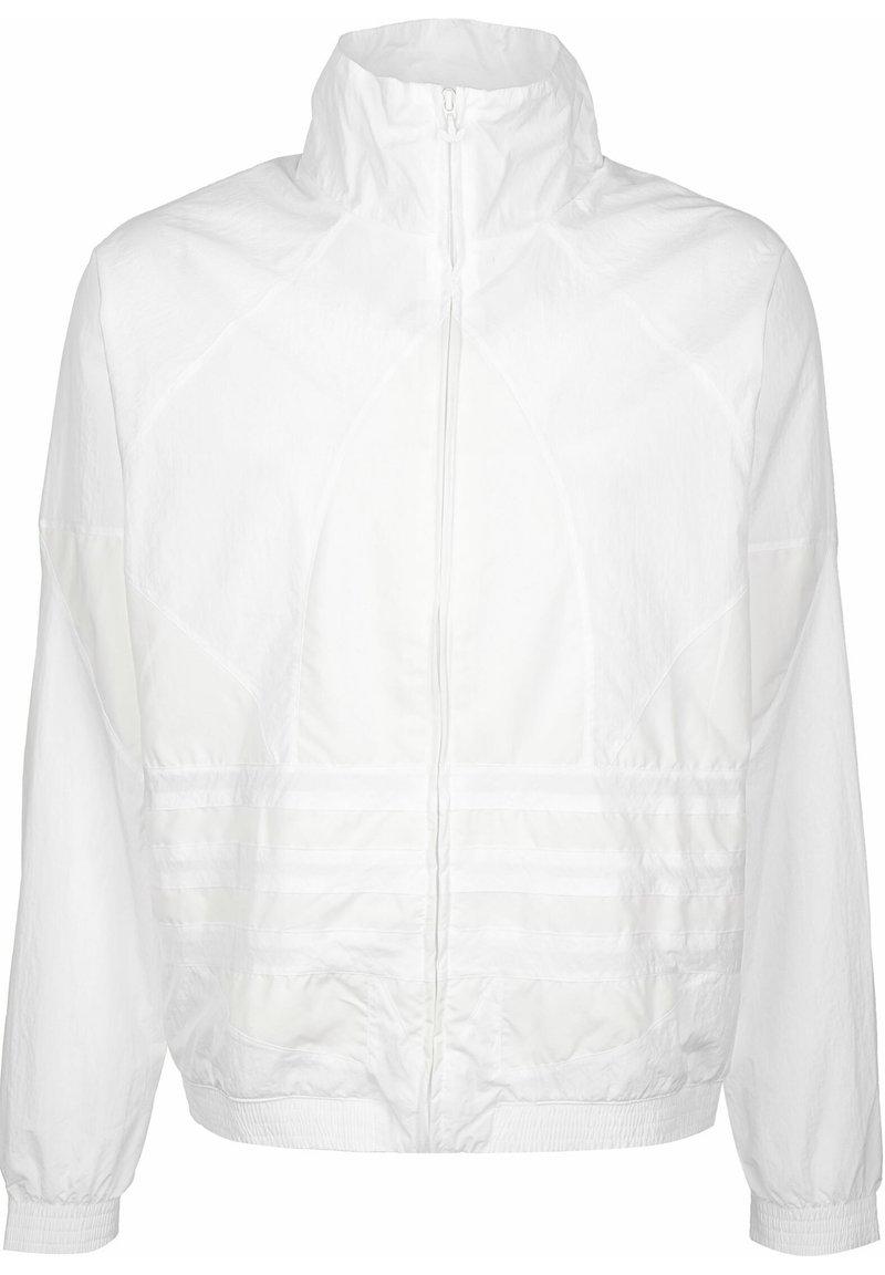 adidas Originals - TRAININGSJACKE BIG TREFOIL - Training jacket - white
