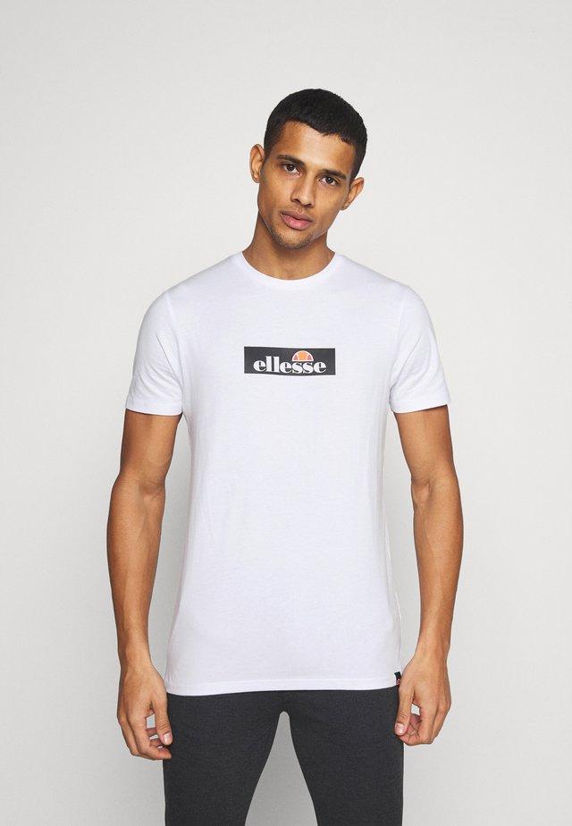 OMBRONO - T-shirt imprimé - white
