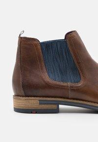 Lloyd - DARIO - Classic ankle boots - cognac - 5